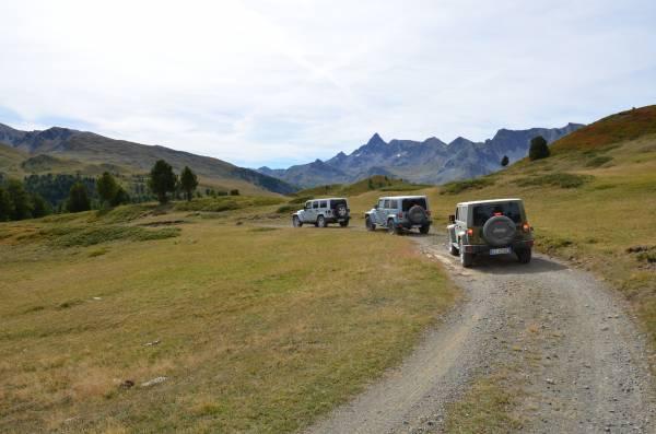 Colle Bousson con Jeep Wrangler 2^esperienza